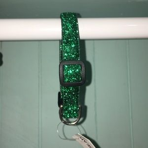 Xsmall to small glitter dog collar!